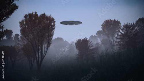 Foto op Canvas UFO Ufology