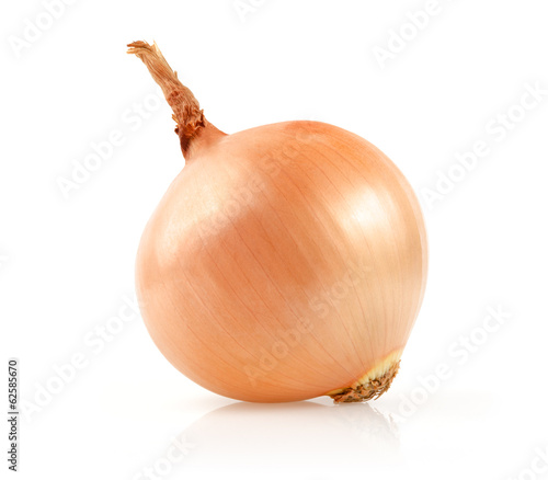 Foto Onion Isolated on White Background
