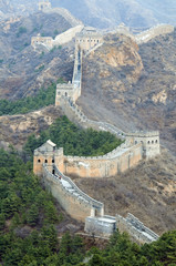 Fototapeta Orientalny Great Wall of China (Jinshanling section)