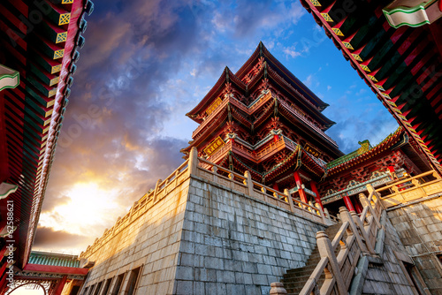 Cadres-photo bureau Pekin Chinese ancient architecture