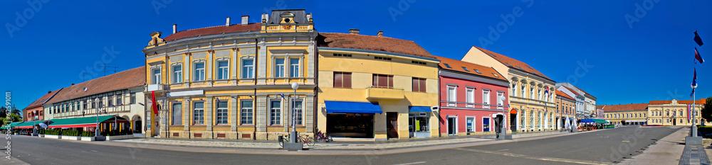 Fototapety, obrazy: Town of Koprivnica main square panorama