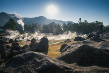 Fang Hot Spring National Park Is Part Of Doi Pha Hom Pok Nationa