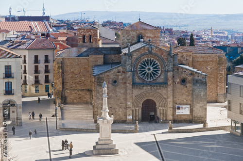 San Vicente Basilica at Avila, Spain