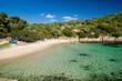 Sardinia Cala Moresca bay, near Golfo Aranci