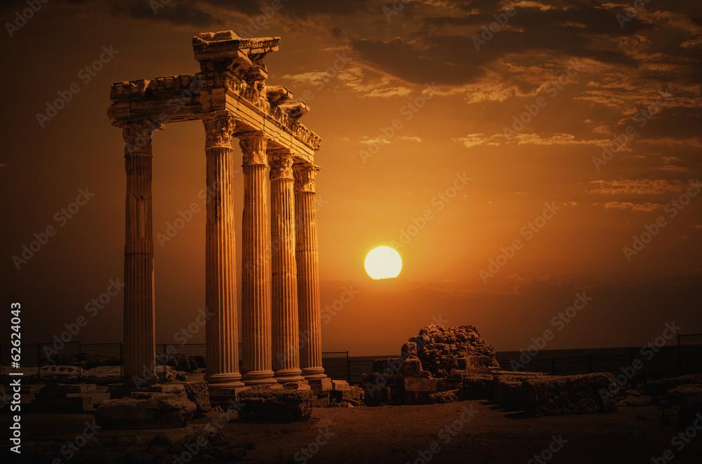 Fototapety, obrazy: Apollon Temple@Antalya
