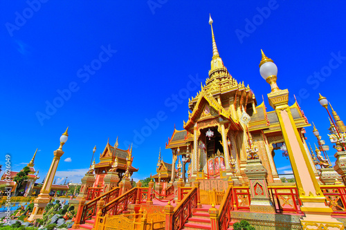 Photo Thai Royal Crematorium in Bangkok of Thailand