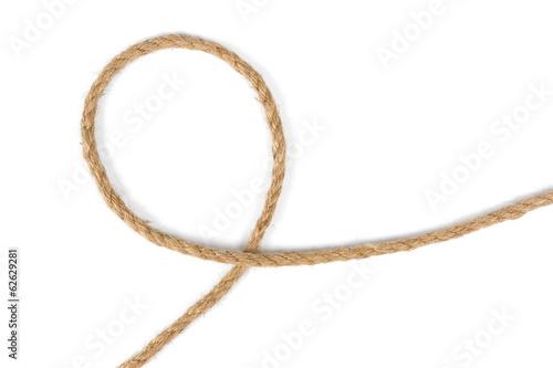Photo jute rope