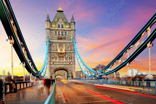 Keuken foto achterwand Londen Tower bridge - London