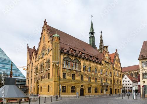 Ulm town hall (Rathaus) - Germany, Baden-Wurttemberg Wallpaper Mural