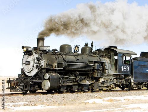 Cuadros en Lienzo  Cumbres and Toltec Narrow Gauge Railroad, Colorado, USA
