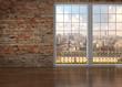 canvas print picture - 3D - Luxus Apartment (V)