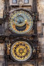 The Prague Astronomical Clock,...