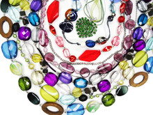 Crystals Beads Jewellery As Fa...