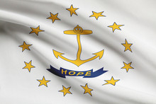 Flag Series. State Of Rhode Is...