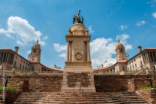 Photo Stands South Africa Union Buildings, Pretoria, South Africa
