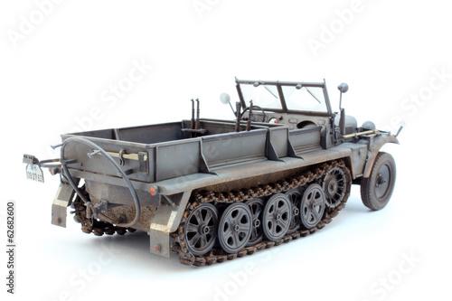 Photo  German WWII artillery tractor Sd.Kfz.10 D7