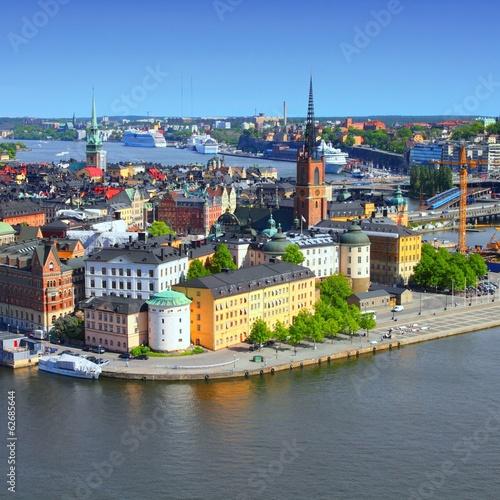 In de dag Noord Europa Stockholm, Sweden - Old Town