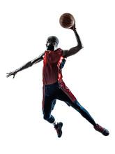 African Man Basketball Player ...