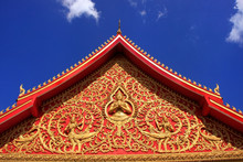 Decoration Of A Roof, Wat Si S...