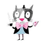funny cat - 62711270