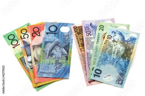 Australian And New Zealand Dollar Bank Notes