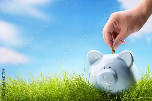 Fototapeta concept of savings obraz