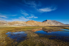 Korzok Village On Tso Moriri, Ladakh