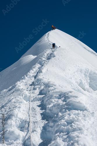 Fototapeta  Imja Tse or Island peak climbing, Everest region, Nepal