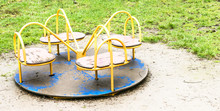 Old Playground After Rain