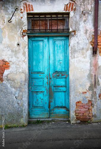 Fotografie, Tablou  vecchia porta di legno