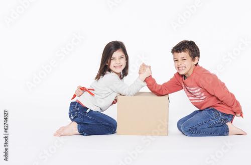 Fotografie, Obraz  toddler playing