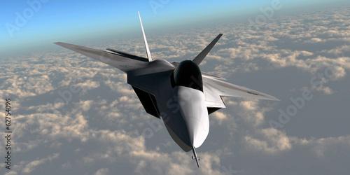 Fotografia F-22 Fighter Jet