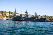 Russian Warship In The Bay, Se...