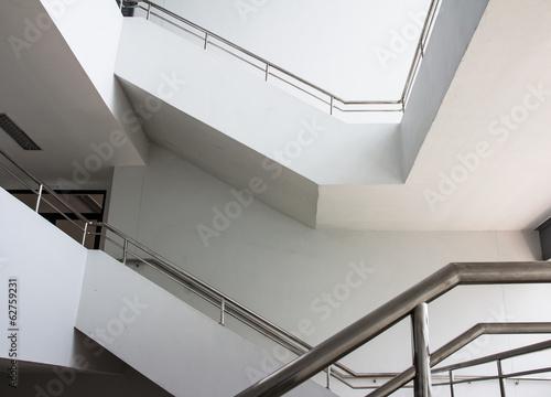 Foto op Plexiglas Trappen ladder in the modern building