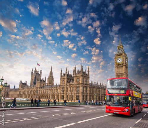 Fototapeta kuchenna Londyn