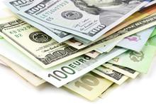 Various Currencies Close-up