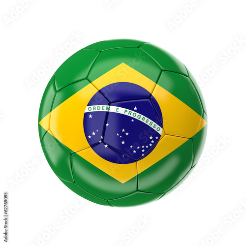Fotografia  brazil soccer ball