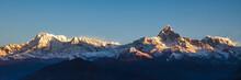 Sunrise On Annapurna Mountains...