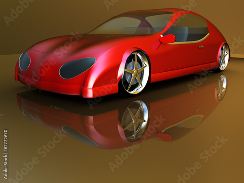 Non-branded generic concept car #62772670