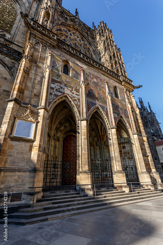 Photo st. vitus cathedral in prague czech republic