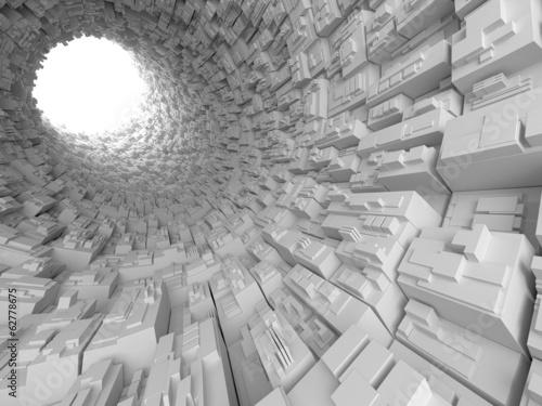 Abstrakter Tunnel - 62778675