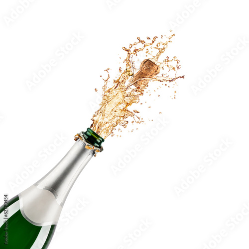 Vászonkép bottle of champagne