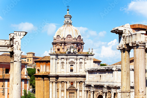 Fotobehang Roman Forum