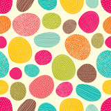 Cute stown. Vector seamless pattern.