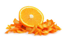 Orange Dried Peel.