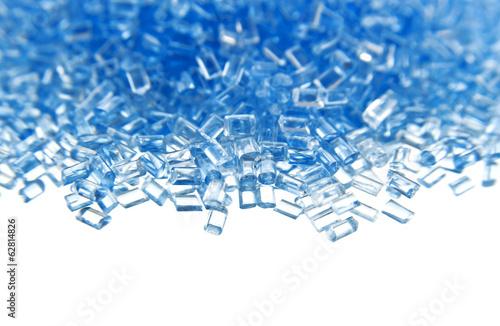 Fotografía  plastic polymer granules