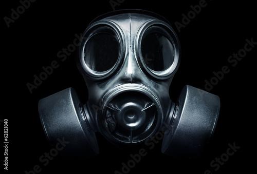 Fotografie, Obraz Gas Mask
