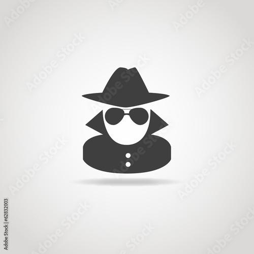 Fotografía  Anonymous Spy Icon