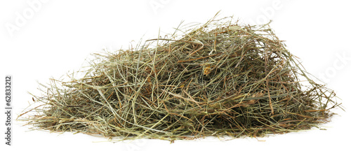 Fotografia Hay, isolated on white