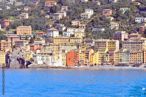 Photographie  glimpse of Camogli, Genoa, Italy